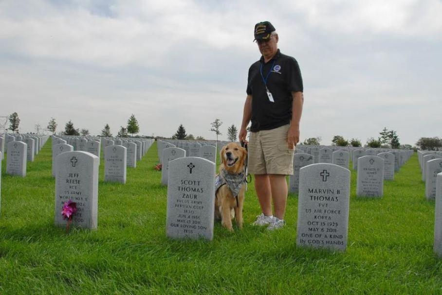 Glueckert Funeral Home Cemetery Tour 2015